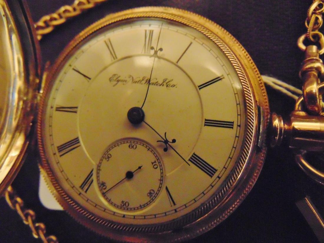 Elgin Heavy Rolled Gold Presentation Pocket Watch