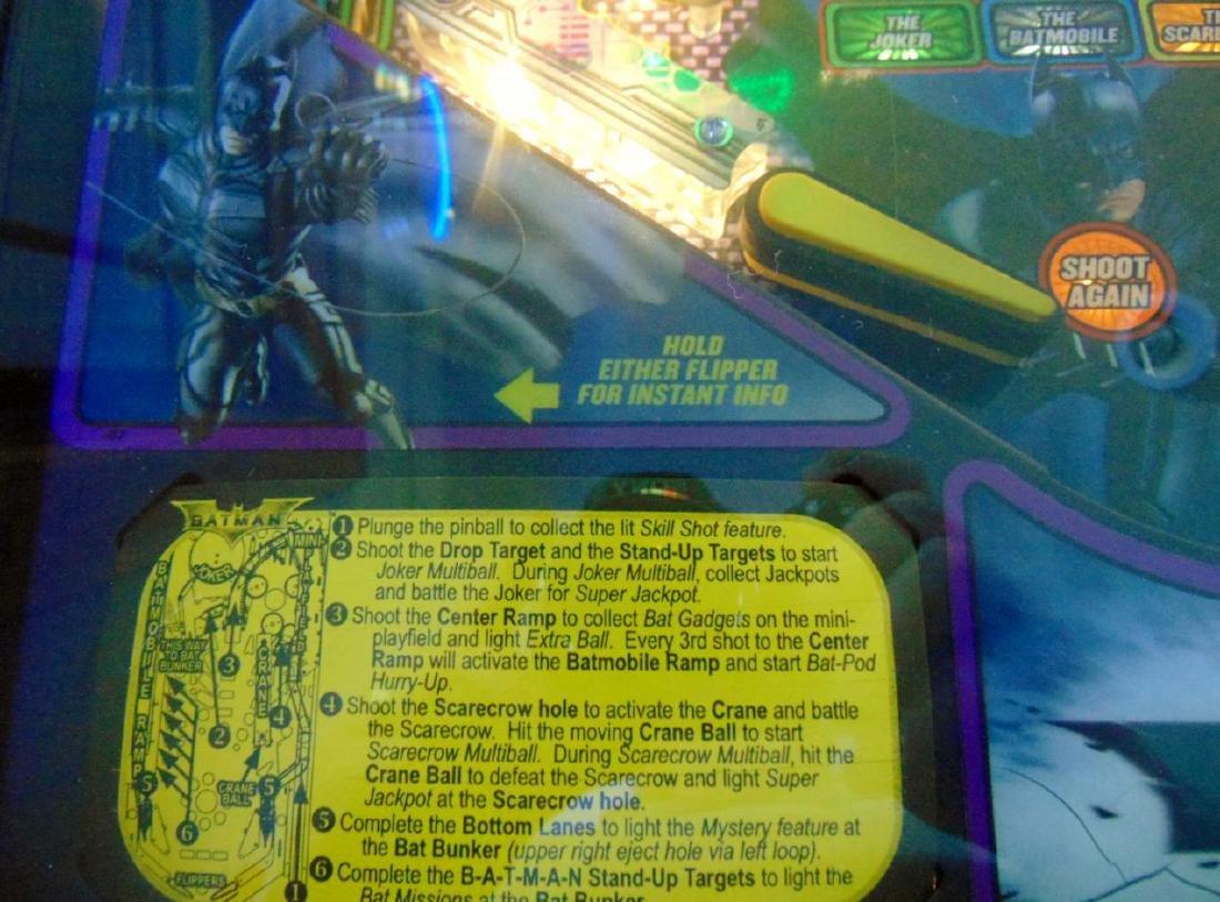 Batman Dark Knight Pinball Stern - 3