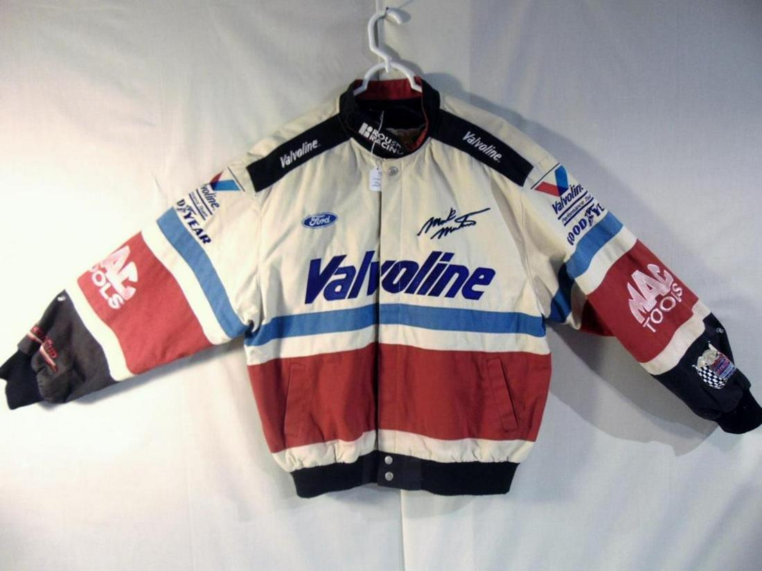 Mark Martin 6 Cotton Valvoline Nascar Racing Jacket By Jan 23 2020 Cedarburg Auction Estate Sales Llc In Wi