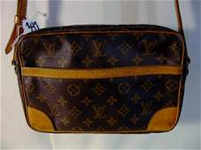 Louis Vuitton Vintage Leather Shoulder Bag