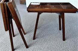 MCM Tile Top Folding Tables (pair)