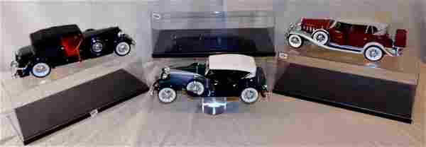 Diecast Cars with Moveable Parts