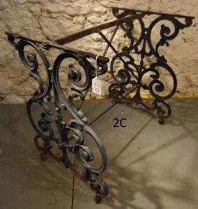 Victorian Wrought Iron Confectionary Table