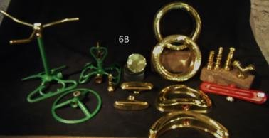 Group of Antique Sprinklers and Accessories