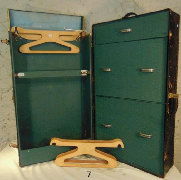 Art Deco Wardrobe Trunk