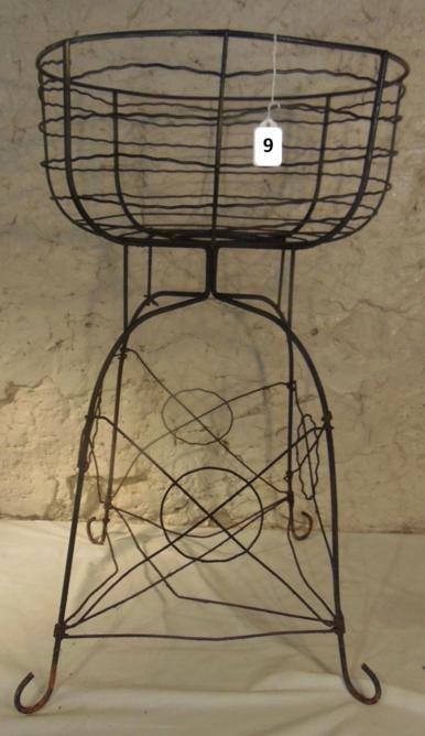 Victorian Wire Garden Basket