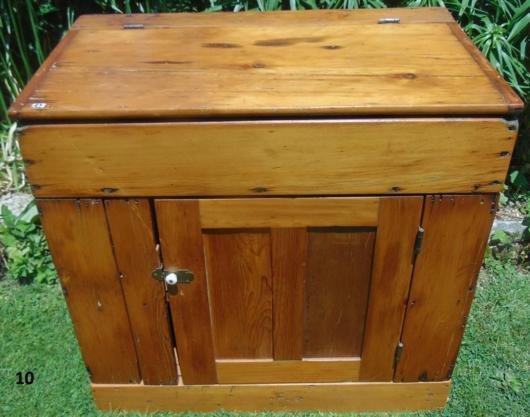 Primitive Flip top Pine One Door Dry sink