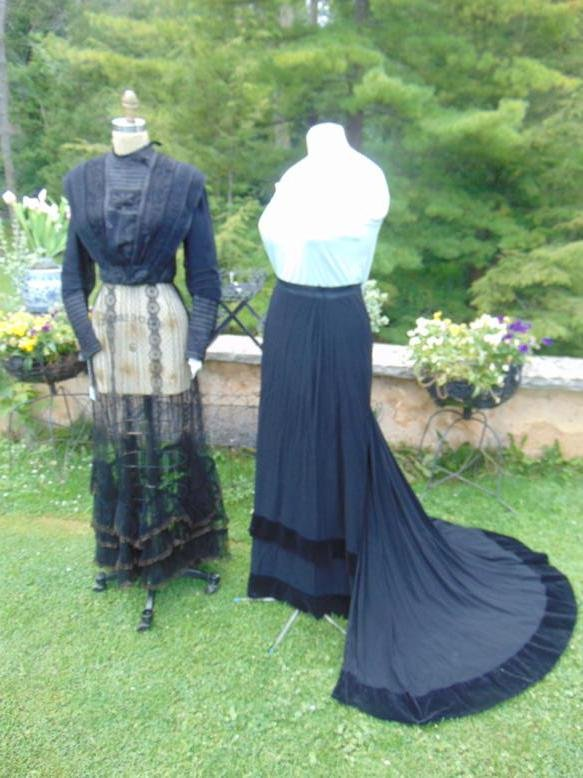 Victorian Bodice and 2  Skirts