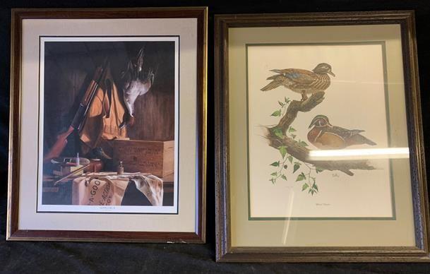 2 Wildlife duck prints
