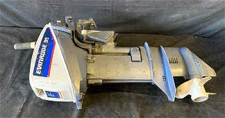 Johnson 99hp outboard boat motor turns over but does