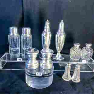 Cartier Sterling Silver Salt and Pepper and Other