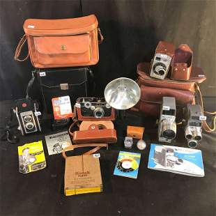 Collection of Vintage Cameras to include Argus, Kodak,