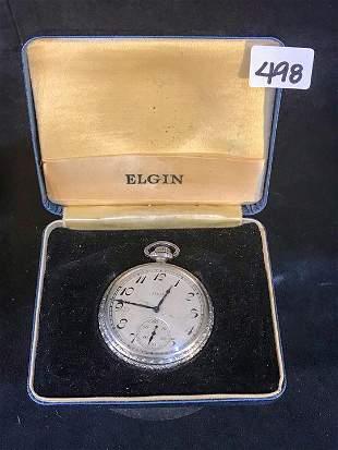 1920's Elgin Pocket Watch in original Box