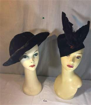 2 Victorian and Edwardian Hats