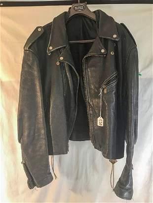 1970's Leather Motorcycle Jacket