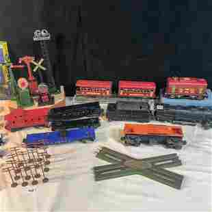 Trains to include Lionel Pullman Engine, Cars and More