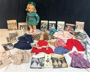 1954 Terri Lee Doll in A Girlscout Uniform, Outfits and