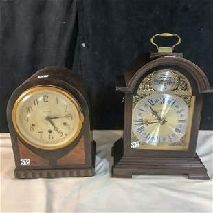 Seth Thomas 30's Mantle Clock and Howard Miller