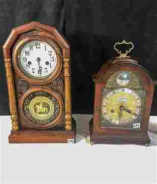 Pre Civil War Coffin Clock