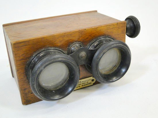 1: Stereoscope by Verascope Richard in good condition (