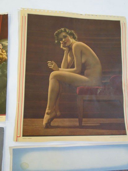 131: Group of 1930's/1940's pin up girl pictures in pro - 3