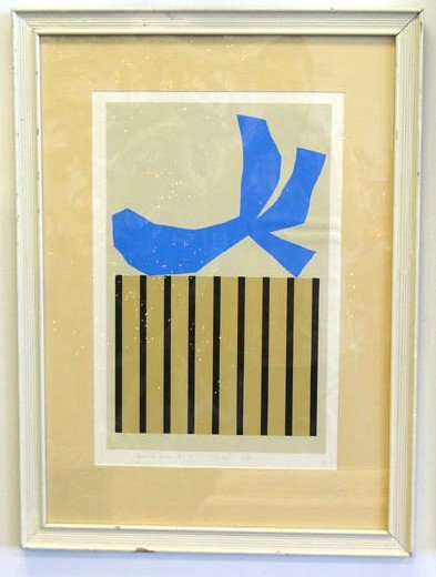 "23: Original serigraph by Harold Kriser – 12 ½ "" by 19"