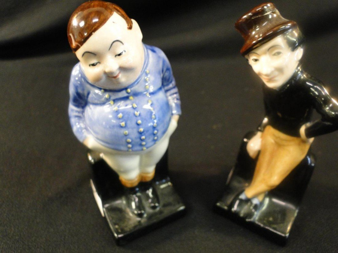 4: A pair of royal Dalton figurines; one fat boy and on