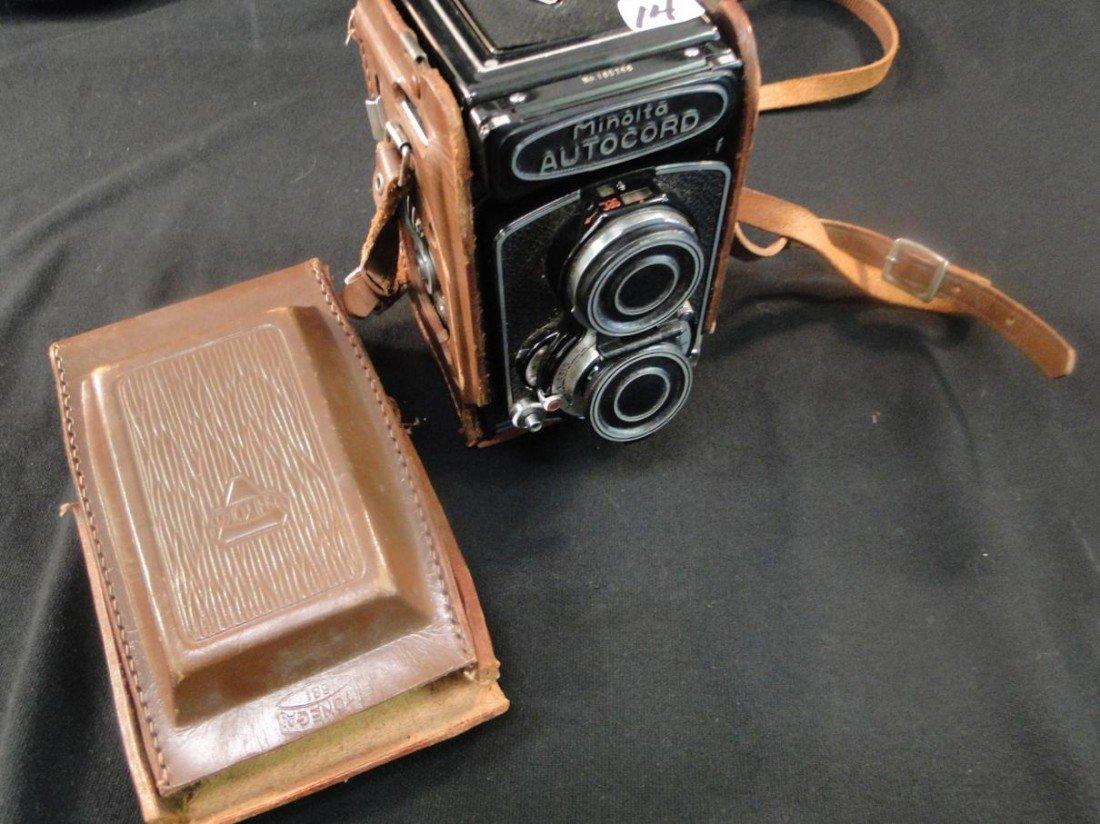 14: Minolta autochord camera model no. 165766 (chiyoko)