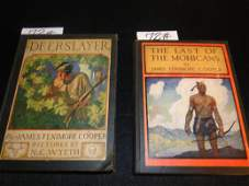 """72: Two antique books including: """"The Last of the Mohic"""
