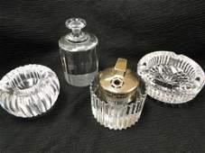 348: Signed Rosenthal Studio Linie cut crystal lighter