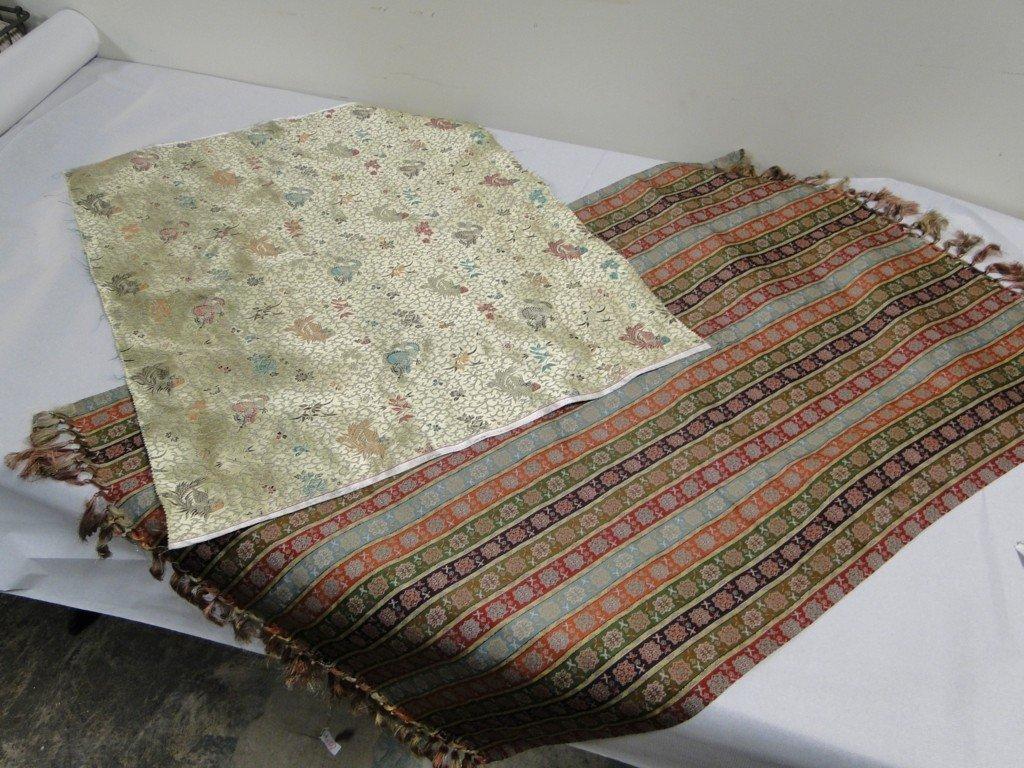 22: Nishiki Fabric and Oriental table runner