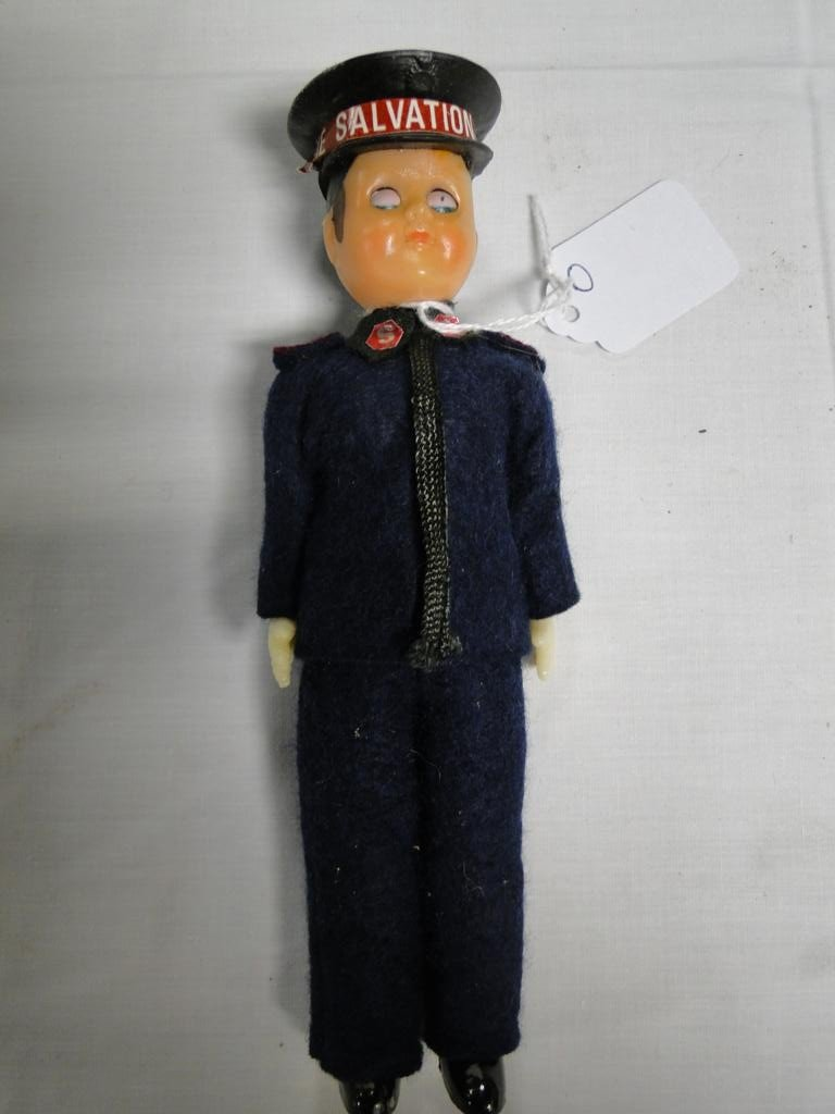 8: Salvation army doll