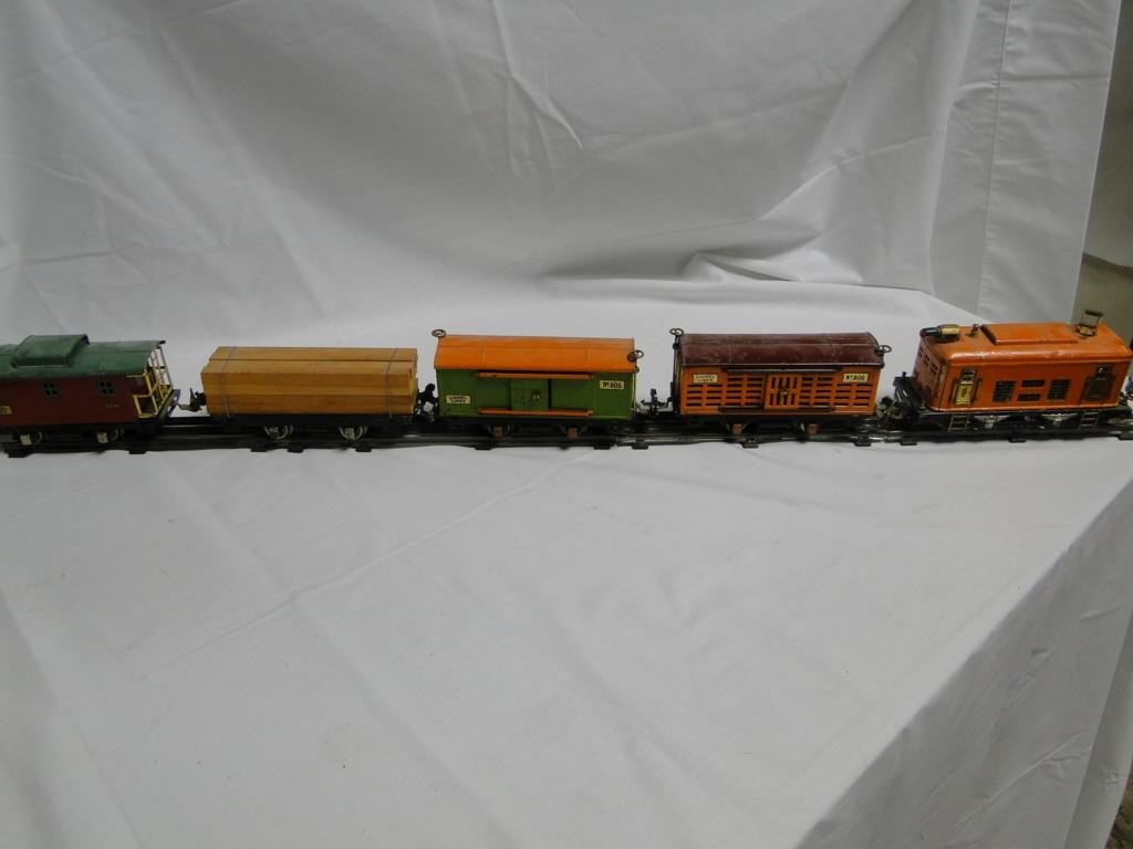 23: Turn of the century tin Lionel train engine #248, c
