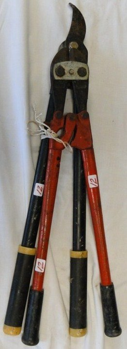 12: Large bolt cutters and hand trimmer - PICK-UP ONLY/