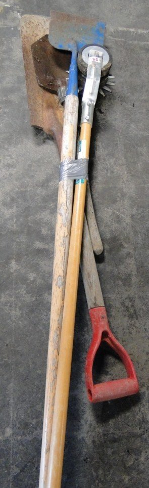 24: Edger and misc. shovels - PICK-UP ONLY/NO SHIPPING