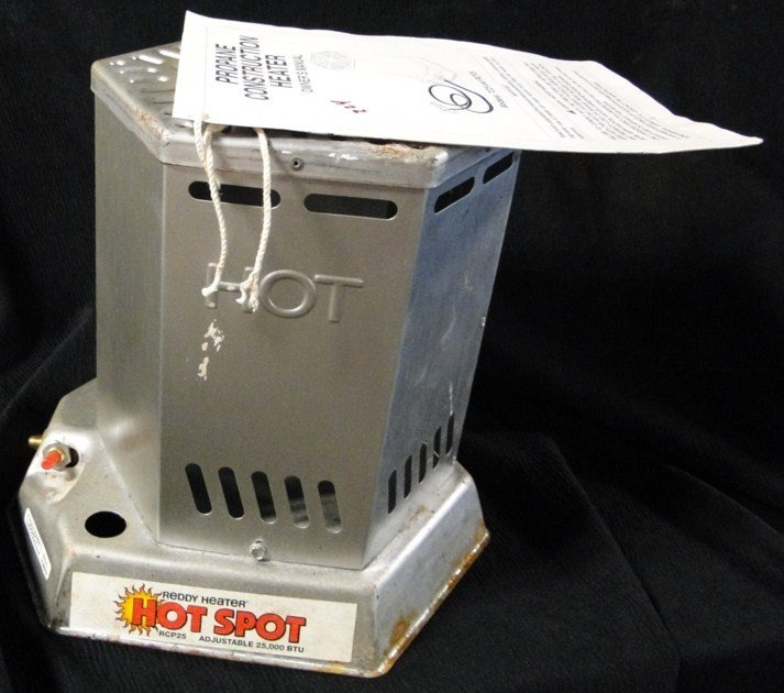 224: Hot Spot propane ready heater with manual, 2500 BT
