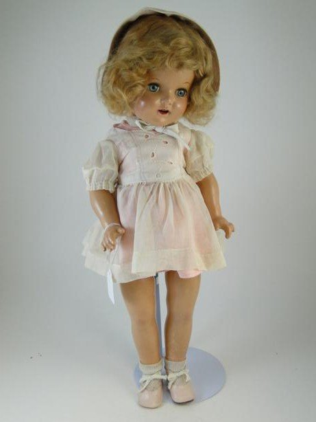 5: Composition doll marked 20 Star on back, in style of