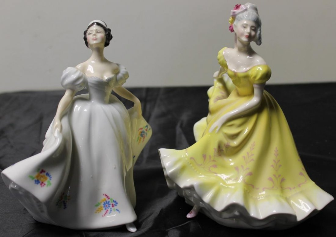11: 2 Royal Doulton's figurines, one entitled Kate and