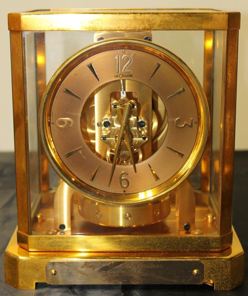 18: Working condition atmos clock with original case