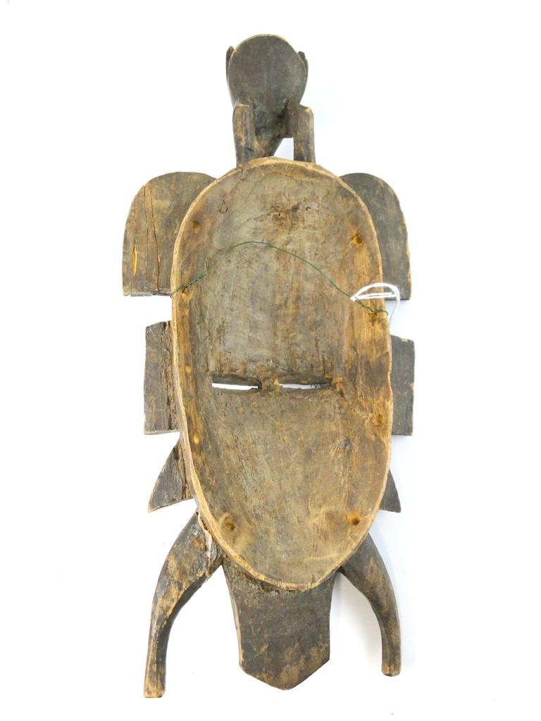 9: Kpelie Mask, Senufo tribe, from Ivory Coast, obtaine - 4
