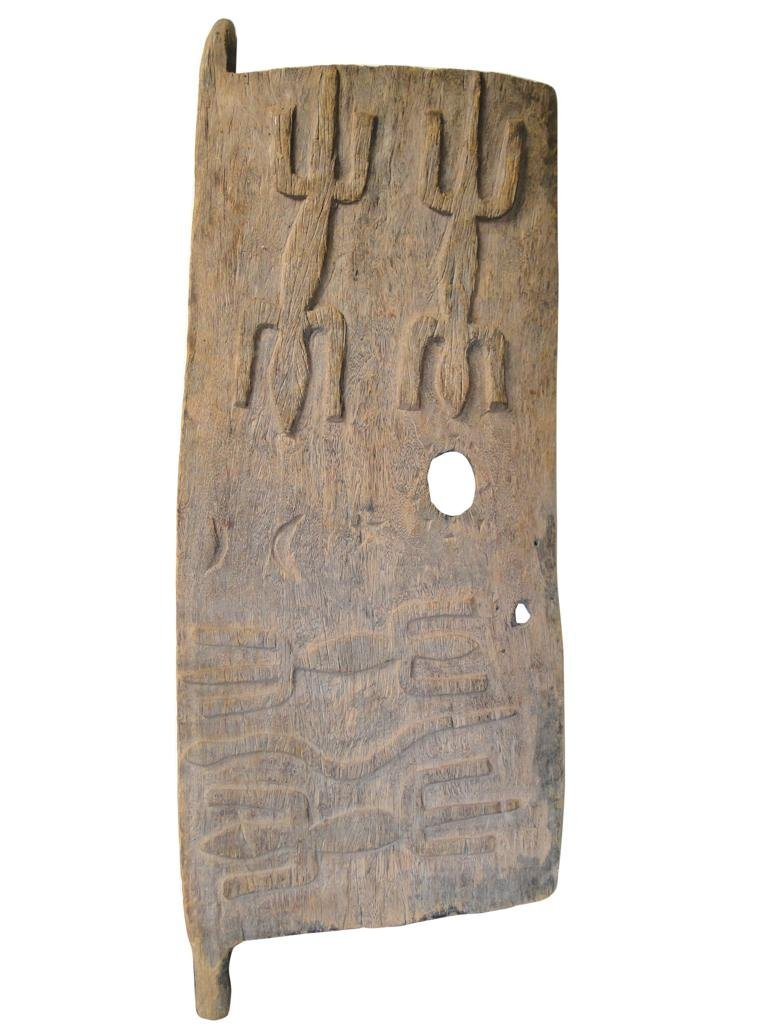 10: Grainery Door, Dogon tribe, from Mali, obtained in