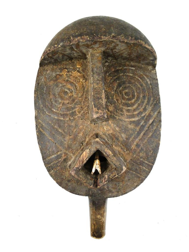 19: Oval Snake Mask with handle, Bobo-Bwa tribe, from B