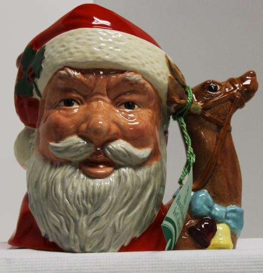 "14: Royal Doulton Toby mug ""Santa Clause"" with hang tag"