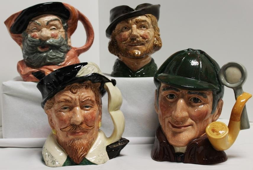 "15: Lot of four Royal Doulton Toby mugs. 1.) ""Falstaff"""