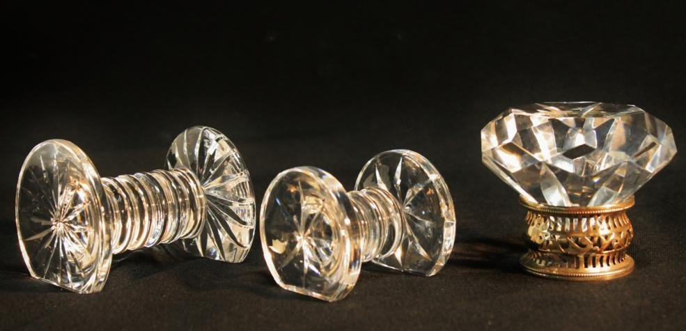 12: Signed Waterford crystal diamond paperweight along