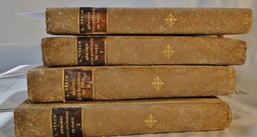 11: Set of 4 volumes Memoires D'Un Bourgeois De Paris b