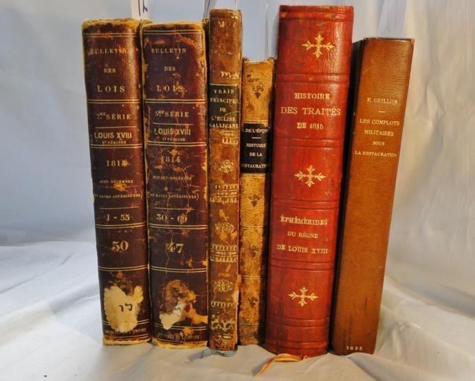 12: Volumes 47 and 50 of Bulletin Des Lois du Royaume D