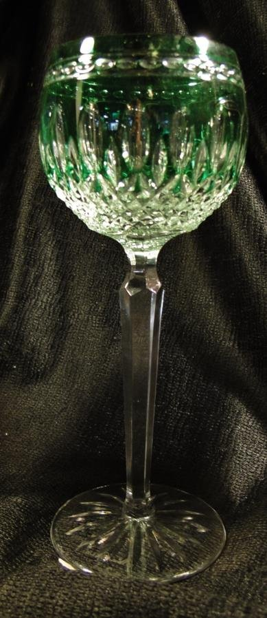 52: 4 Waterford crystal Clarendon wine hocks in 4 color - 3