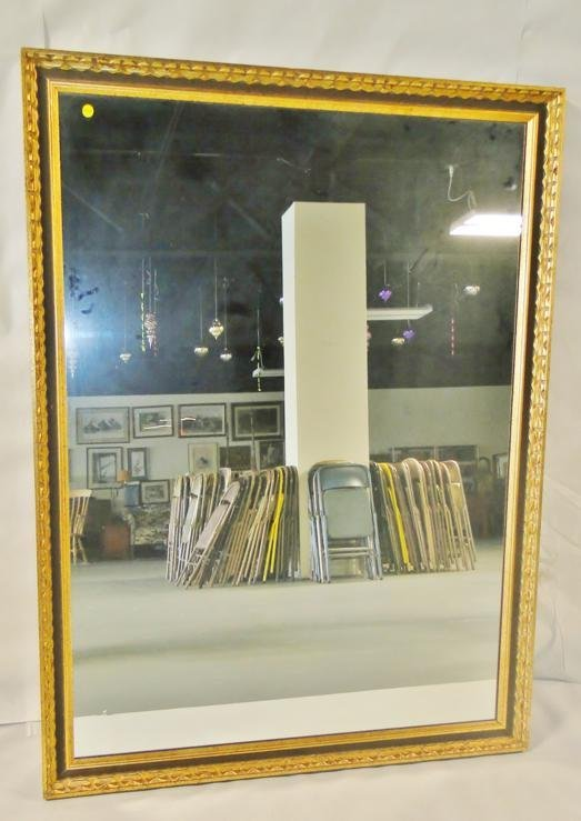 Mid-century modern, large, late 60's entry mirror. Meas