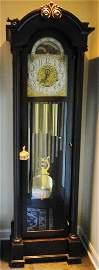 Herscheide 12-tube grandfather clock, plays 4 tunes,